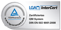 Quality assurance ISO-certified